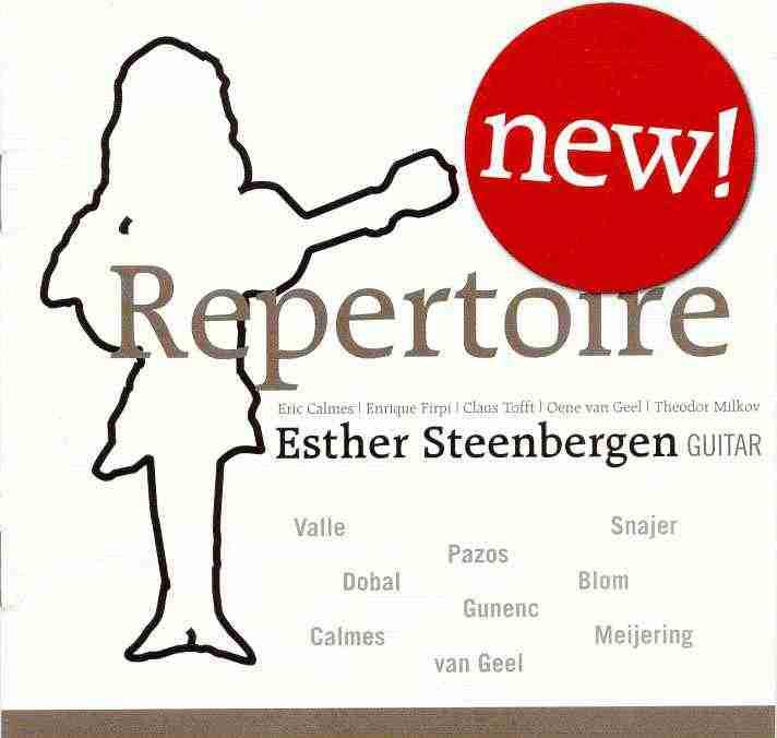 esther steenbergen trio cd new repertoire