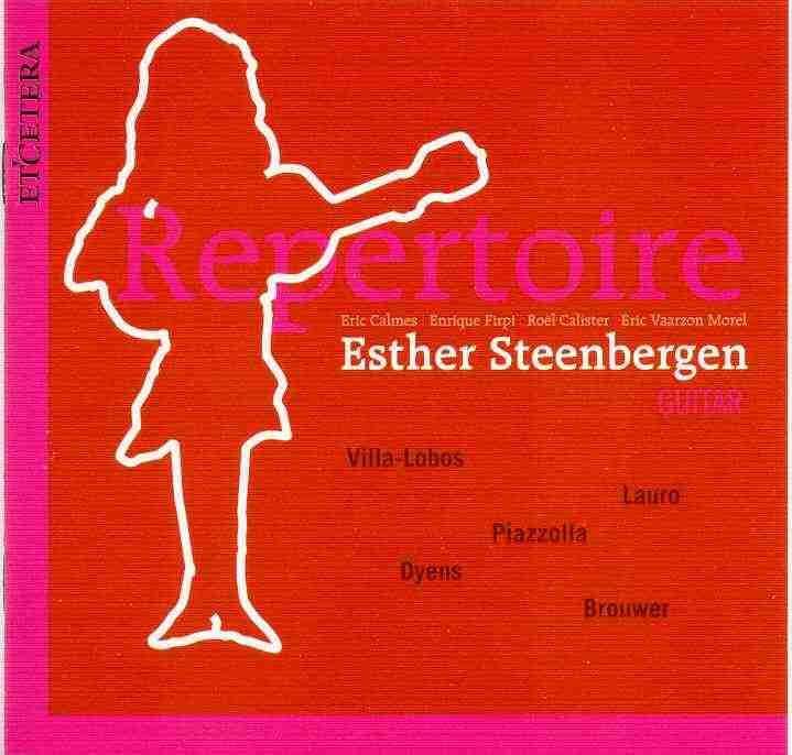 esther steenbergen trio repertoire